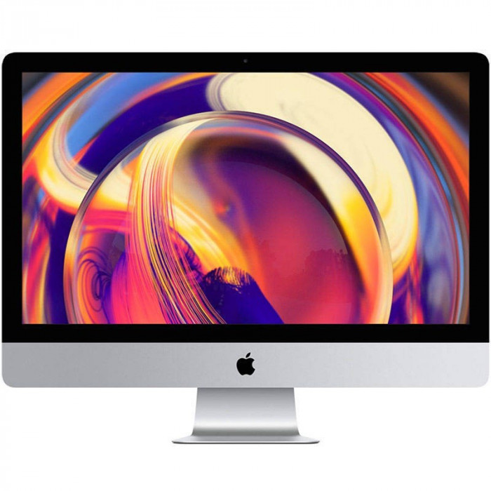 Sistem All in One Apple iMac 27 inch Retina 5K Intel Core i5 3.7 GHz Hexa Core 8GB DDR4 2TB Fusion Drive HDD AMD Radeon Pro 580X 8GB Mac OS Mojave RO