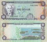 1982 , 1 dollar ( P-64a ) - Jamaica