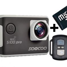 Camera Video Sport 4K iUni Dare S100 Pro Black, WiFi, mini HDMI, 2 inch LCD + Card MicroSD 16GB