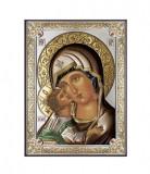 Icoana Maica Domnului Vladimir 8X11cm Color Cod Produs 2860