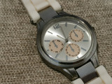 Ceas de mana Dama Femeie - model trendy casual elegant otel inoxidabil curea alb, Mecanic-Manual, Metal necunoscut