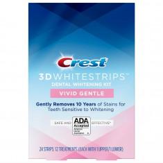 Crest Whitestrips 3D Vivid Gentle - Cutie 12 plicuri