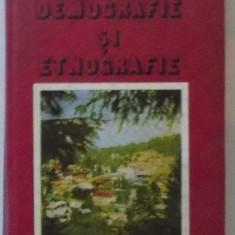 Demografie si etnografie  / Vladimir Trebici si Ion Ghinoiu