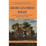 Poezii | Grigore Alexandrescu, Cartex