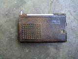 Radio rusesc Quartz 402+tocul original din piele naturala