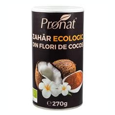 Zahar de Cocos Bio 270gr Pronat Cod: PRN21231