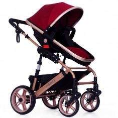 Carucior MACACA Best Baby CB-1509Z culoare (Rosie)