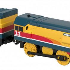 Locomotiva Thomas Trackmaster Rebecca cu vagon