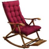 Balansoar de terasa scaun living cu cadru lemn rezistent + perna Rosie