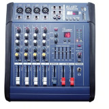 Mixer audio profesional amplificat 200W cu 4 canale si Bluetooth PMX402D-USB, RLAKY