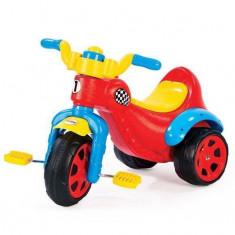 Tricicleta Dolu Super bike, prevazut cu claxon, roti late