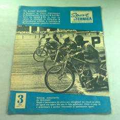 REVISTA SPORT SI TEHNICA NR.3/1969