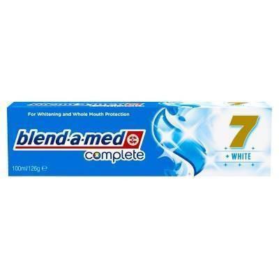 Pasta de dinti Blend-A-Med Complete 7 white 100ml foto