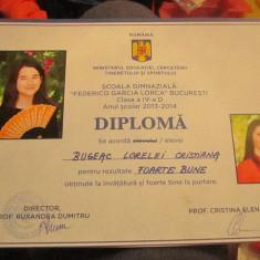 diploma la scoala federico garcia lorca