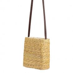 Handmade Natural Water hyacinth Medium Tote Bag