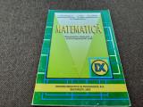 Manual de Matematica pentru clasa a IX-a C.Nastasescu,RF13/0
