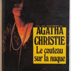 Le couteau sur la nugue – Agatha Christie