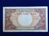 Bancnote România - 1000 lei 1938 - seria A 1084 0569 (starea care se vede)