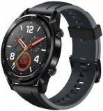 Smartwatch Huawei Watch GT Fortuna-B19S, Amoled 1.39inch, 16MB RAM, 128MB Flash, Bluetooth (Negru)