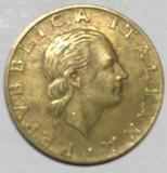 Moneda Italia 200 Lire 1991 Bimetal