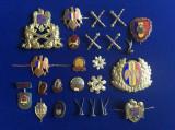 Insigne militare - Insigne România - Lot diferite insigne și efecte militare