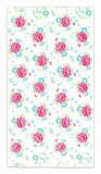 Cumpara ieftin Prosop baie fetite flori roz Funny Flower 70×140 cm