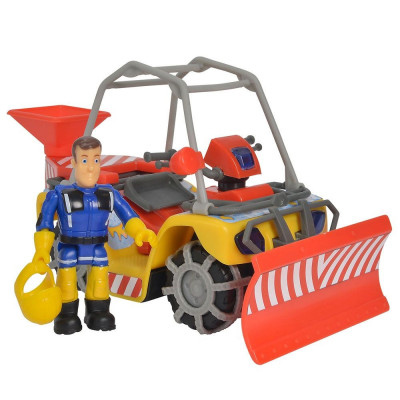 Set de joaca Pompierul Sam - ATV pentru dezapazit cu accesorii foto