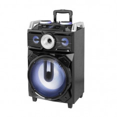 Boxa portabila cu Bluetooth si functie Karaoke, Trevi 120 W, FM, MP3, USB Mania Tools