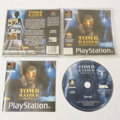 Joc Sony Playstation 1 PS1 PS One - Tomb Raider Chronicles