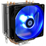 Cooler CPU ID-Cooling SE-903 V2 Blue, Ventilator 92mm, Heatpipe-uri Cupru