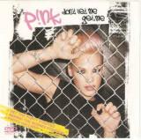 DVD P!NK – Don't Let Me Get Me, original
