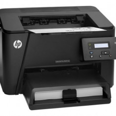 Imprimanta Laser Monocrom A4 HP M201dw, 26 pagini/minut, 30000 pagini/luna, 1200 DPI, Duplex, Network, Wi-Fi, USB, Cartus Toner Inclus, Lipsa Tava