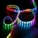 2 X BANDA LED RGB MULTICOLOR CU TELECOMANDA, 5 M
