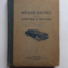 Vochin Dumitru - Instalatii Electrice Pentru Automobile Si Tractoare 6 poze 1956