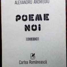 ALEXANDRU ANDRITOIU - POEME NOI (editia princeps, 1984)