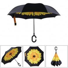 Umbrelă ploaie, reversibilă, 106cm , Grunberg