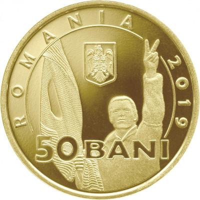 Romania, 50 bani 2019_comemorativa_30 de ani de la Revoluția Română * cod --- foto