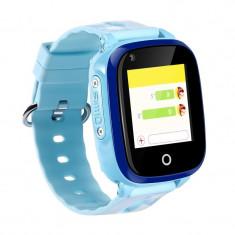Wonlex KT10 4G Ceas copii, compatibil Digi, rezistent la apa, camera, functie telefon, Video Call (+ bratara fitness CrabTECH™)