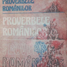 PROVERBELE ROMANILOR - I . C . HINTESCU