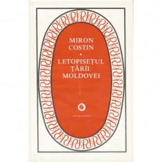 Letopisetul Tarii Moldovei - Miron Costin