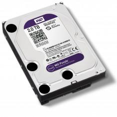 Hard disk PC Nou Sigilat WD Purple 2TB. 5400rpm. 64MB cache. SATA III