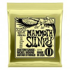 Corzi electrica Ernie Ball 2214 12-68 Mammoth Slinky Nickel Wound