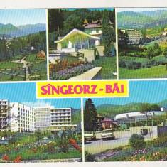 Bnk cp Sangeorz Bai - Vedere - circulata, Printata