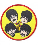 Patch The Beatles: Yellow Submarine Periscopes & Heads