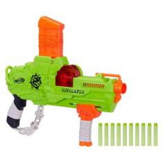 Arma de jucarie pentru copii, model mitraliera zombie strike, 47x5x25 cm