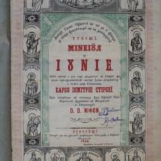 Minei Iunie, Bucuresti 1852