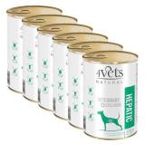 Cumpara ieftin 4Vets Natural Veterinary Exclusive HEPATIC 6 x 400 g