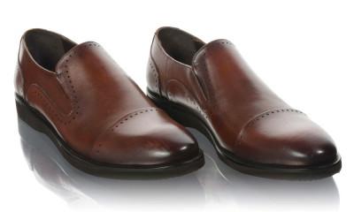 Pantofi barbati din piele naturala Komcero Kom-5024-143-BRW foto