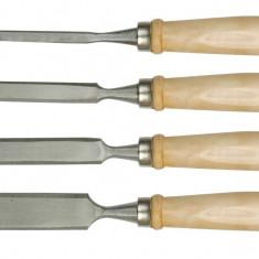 Set 4 dalti lemn pentru tamplari 6-24 mm VOREL