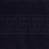 Cumpara ieftin Prosop de baie Bianca Cu Model Grecesc negru 70×140 cm